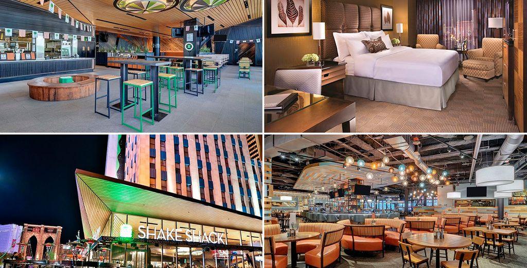 Te alojarás en el hotel New York New York 4*