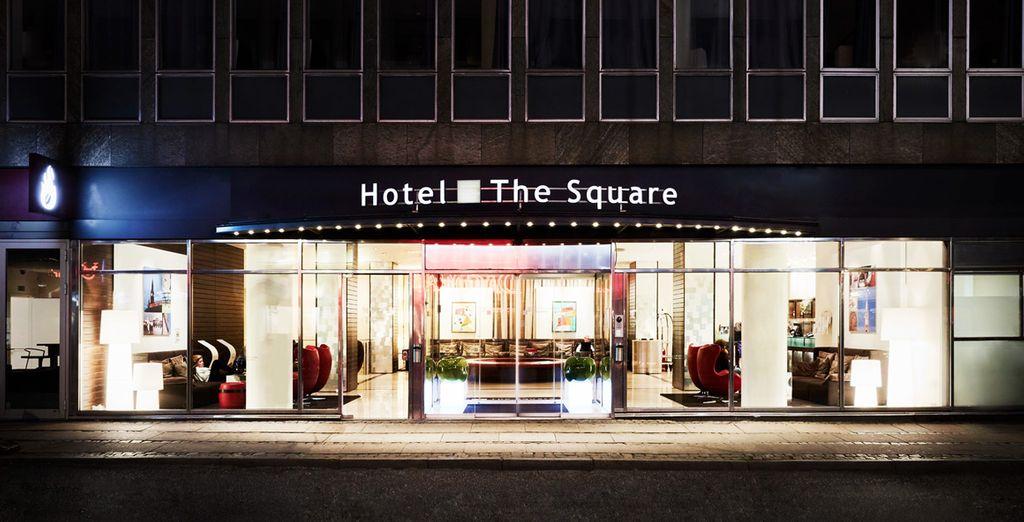 The Square Hotel 4* estará a tu disposición