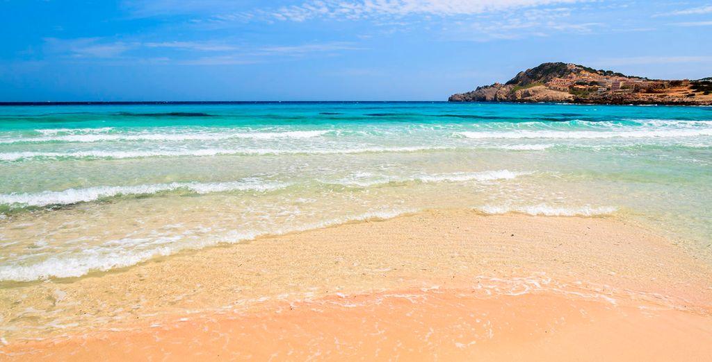 Goza de las idílicas playas mediterráneas en Mallorca