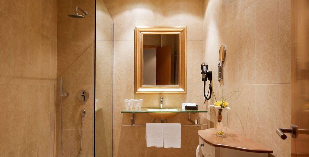 Con baños completamente equipados