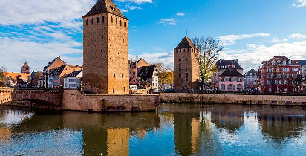 En Estrasburgo pasearás por su centro histórico, declarado Patrimonio de la Humanidad por la Unesco