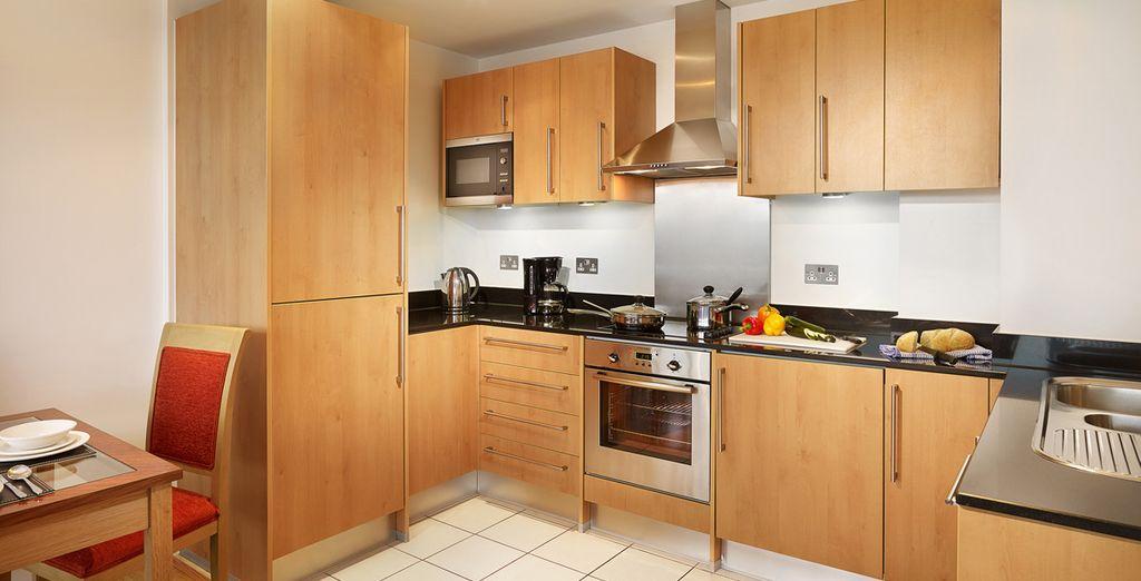 El cual dispone de una cocina completamente equipada