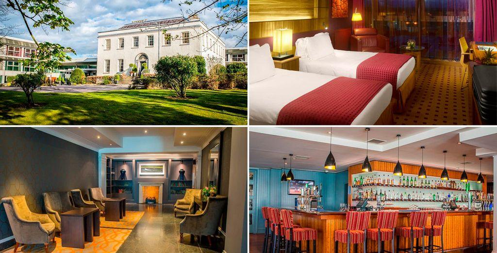 Bienvenido al elegante Radisson BLU Hotel & Spa, Little Island Cork 4*