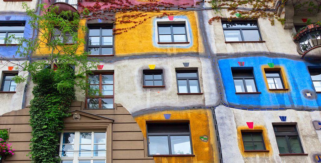No puedes perderte las casas de Hundertwasser