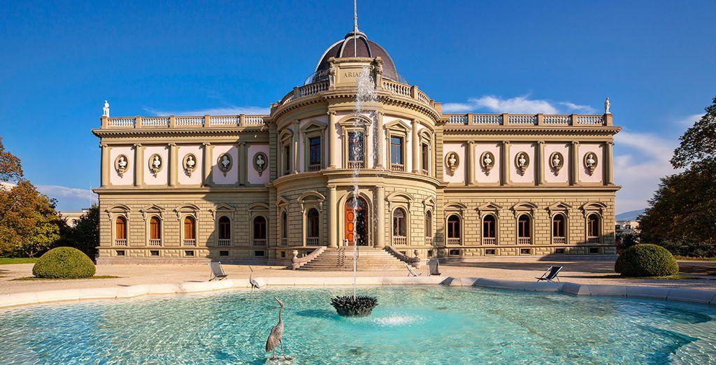 La belleza de Ginebra, centro financiero y mundial de la diplomacia