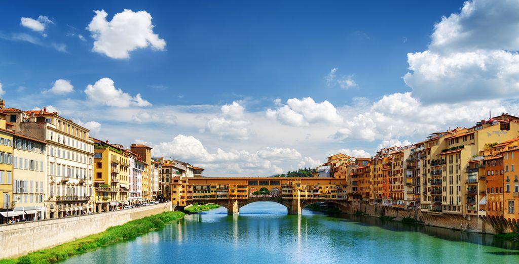 A 350 metros del Ponte Vecchio