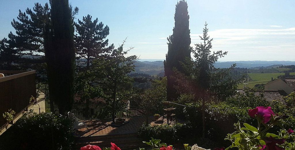 Una estancia agradable y sosegada, cercana a la bella Florencia