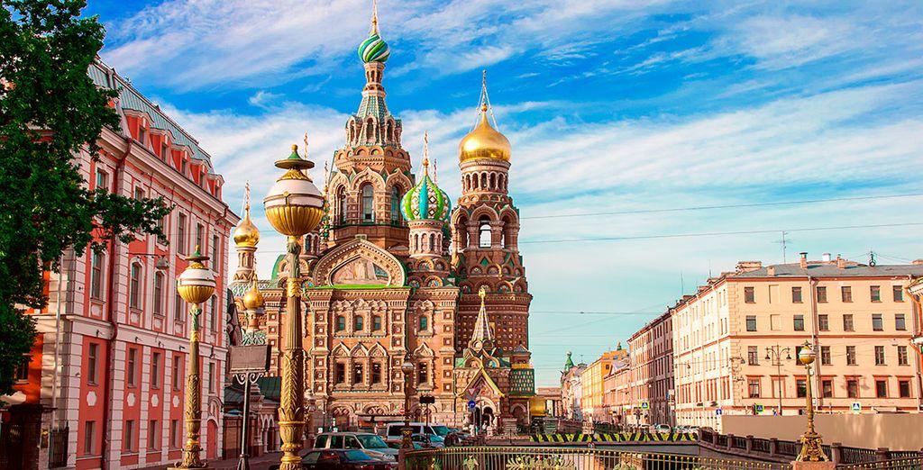 Descubre todas las maravillas de la Rusia Imperial