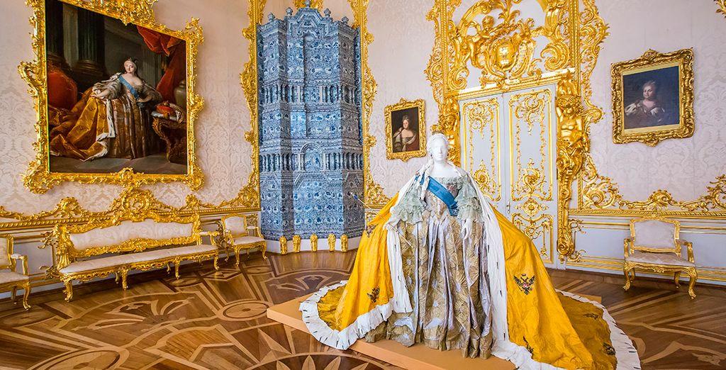 Un palacio espectacular a 24km de San Petersburgo