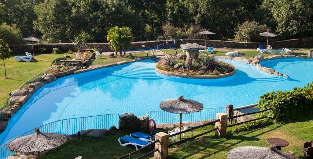 Refréscate en estas maravillosas piscinas