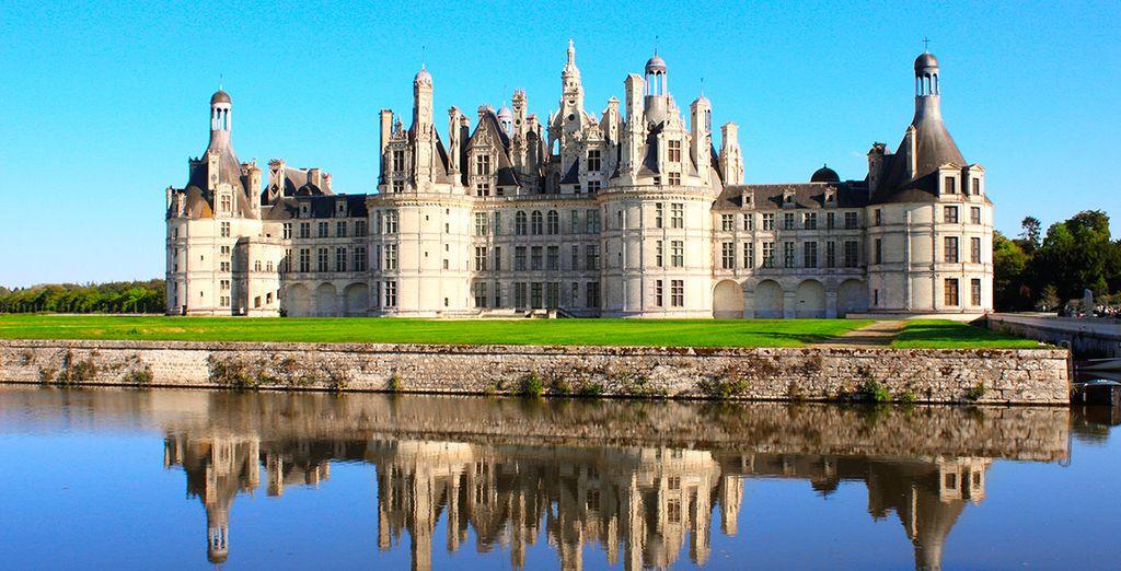 Comenzaréis el segundo día visitando el Castillo de Chambord...