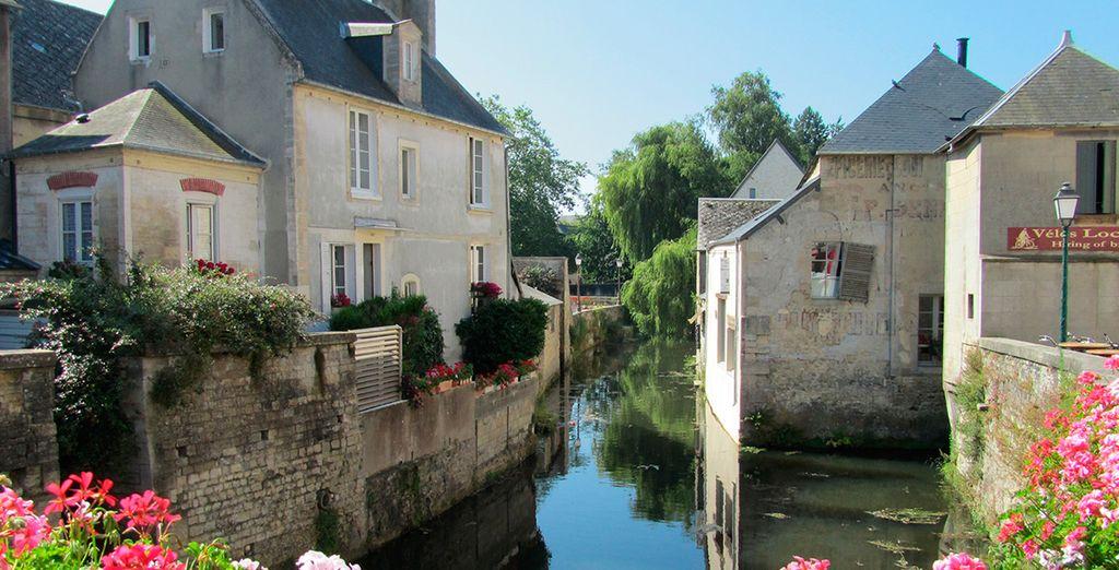 Realizarán una parada en la localidad de Bayeux