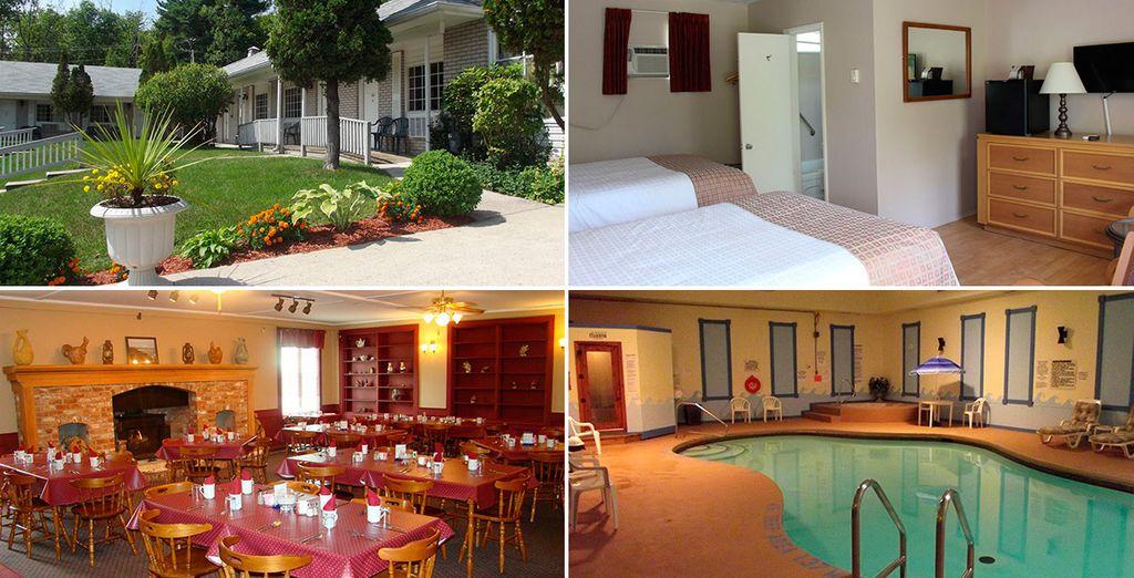 En Gananoque descansarás en Colonial Resort & Spa
