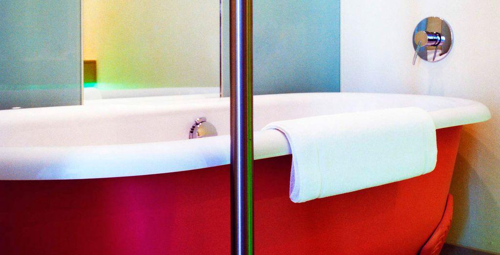 Incluida tu bañera de estilo victoriano