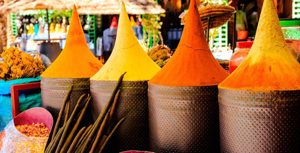 Un lugar donde los colores y los aromas son los protagonistas