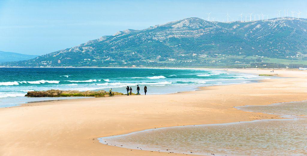 Acércate a la espectacular playa de Tarifa