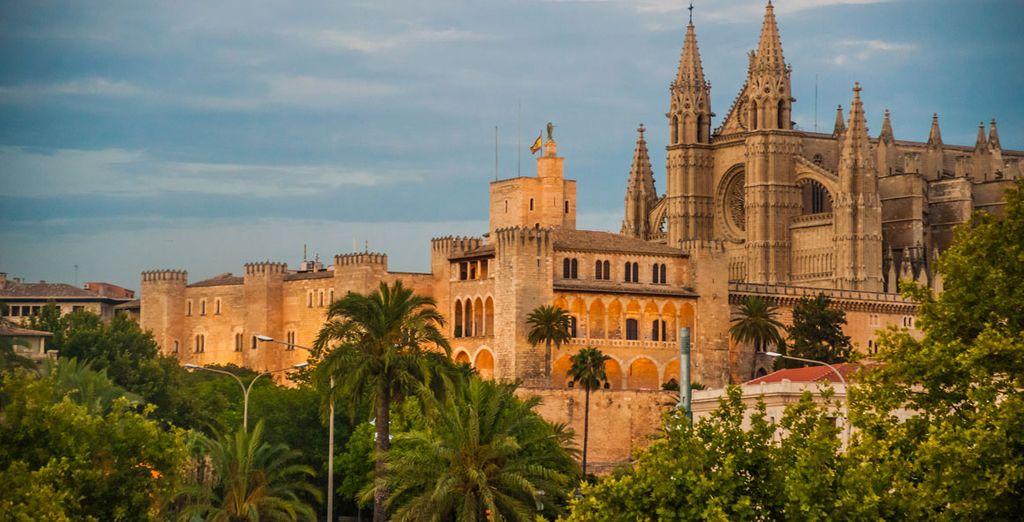 Aprovecha tus vacaciones para acercarte a Palma de Mallorca
