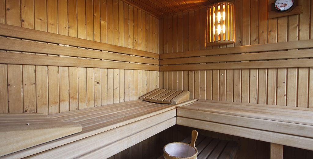 ¡Disfruta de tu acceso al spa y relájate!