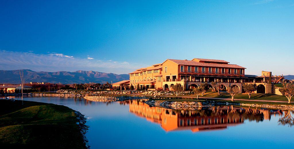 El Hotel Peralada Wine Spa & Golf se encuentra en un enclave privilegiado
