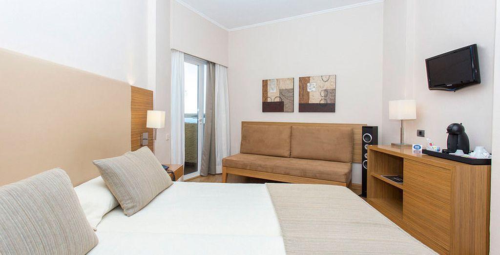 Un espacio moderno, cómodo y acogedor