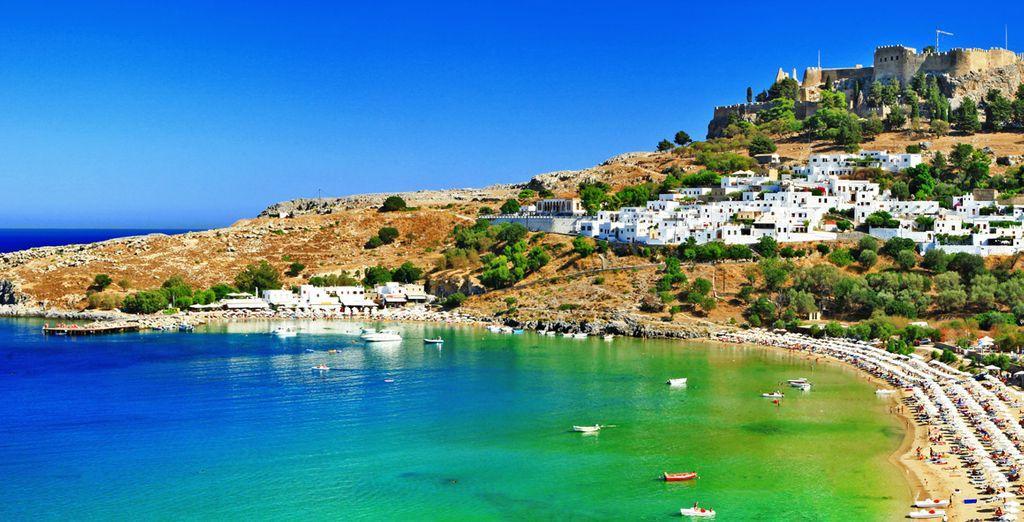 Este verano... ¡viajarás a Rodas!