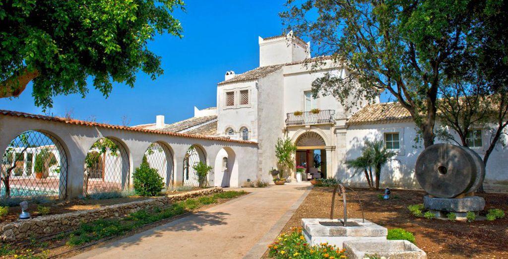 Una prestigiosa villa rica en historia
