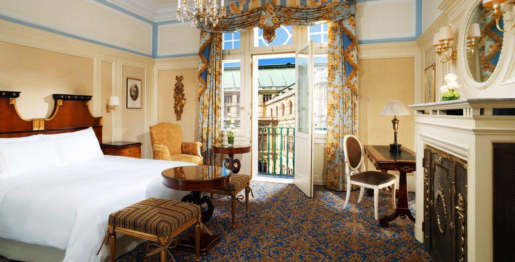 Bienvenido al Hotel Bristol Vienna 5*, a Luxury Collection Hotel