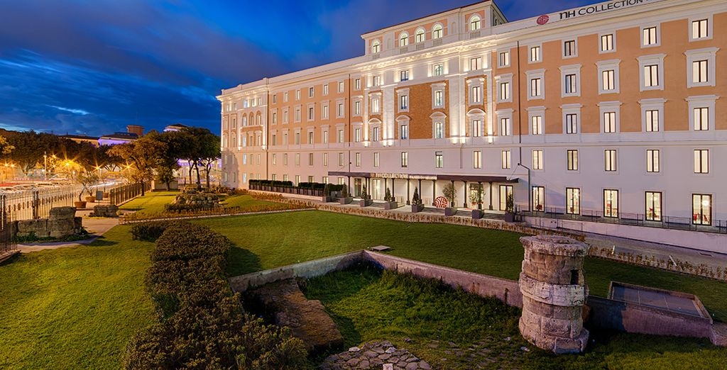 Un hotel que te impresionará
