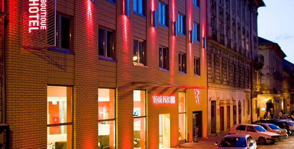 Hotel Royal Park Boutique 4*, una de tus opciones en Budapest