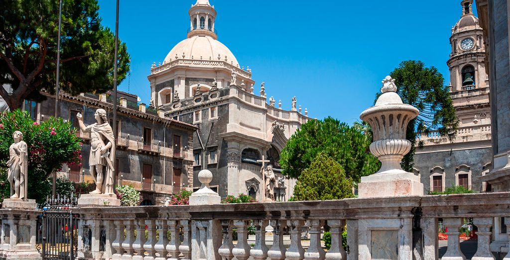 Catania es la segunda ciudad más grande de Sicilia