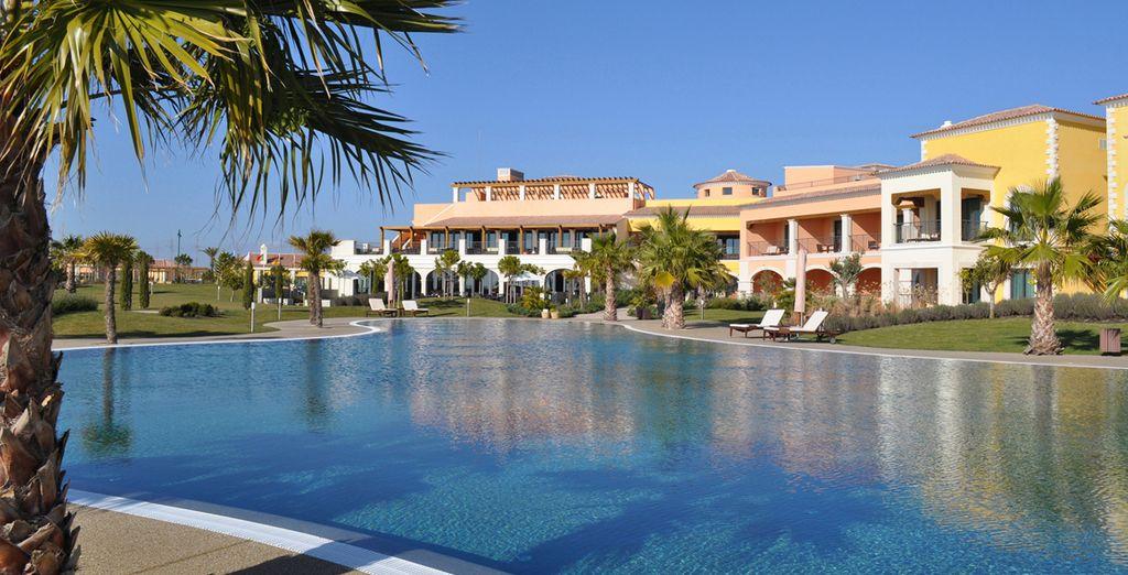 Un resort que inspira calma y tranquilidad