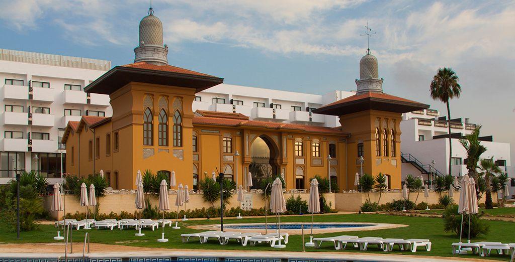 Bienvenido al Hotel Fergus Style Palacio Mojacar Spa