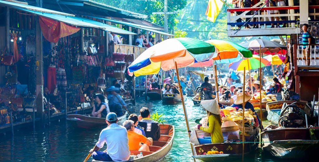 Descubre Bangkok: contrastes a flor de piel