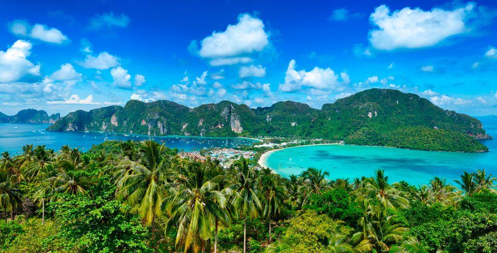 No dejes escapar la oportunidad de visitar Ko Phi Phi Lee