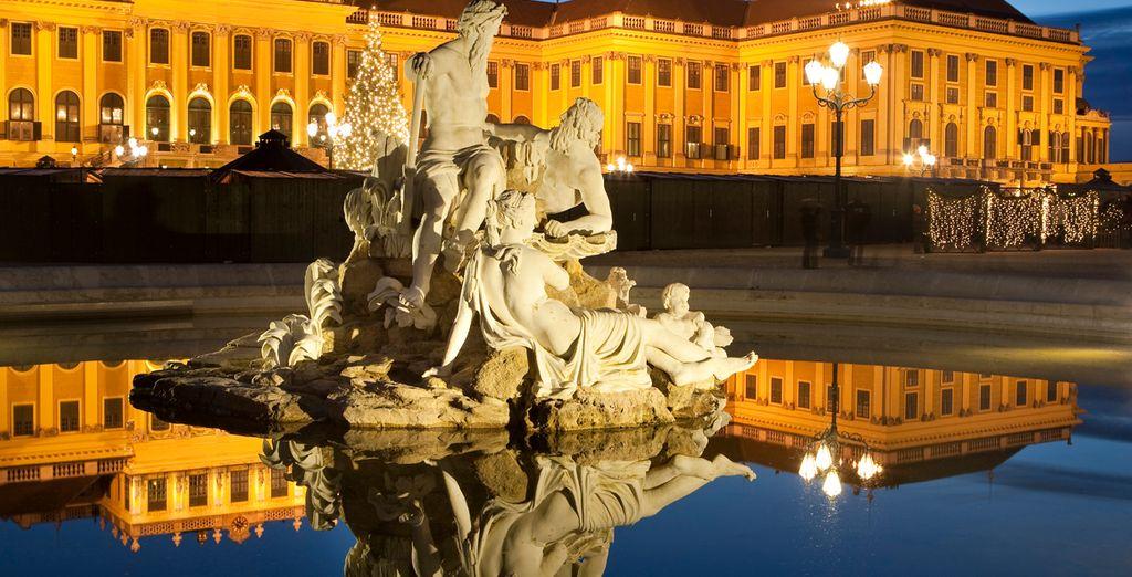 Bellas esculturas decoran la ciudad