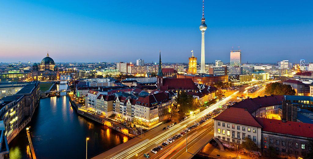 Vista de la capital alemana desde Alexanderplatz
