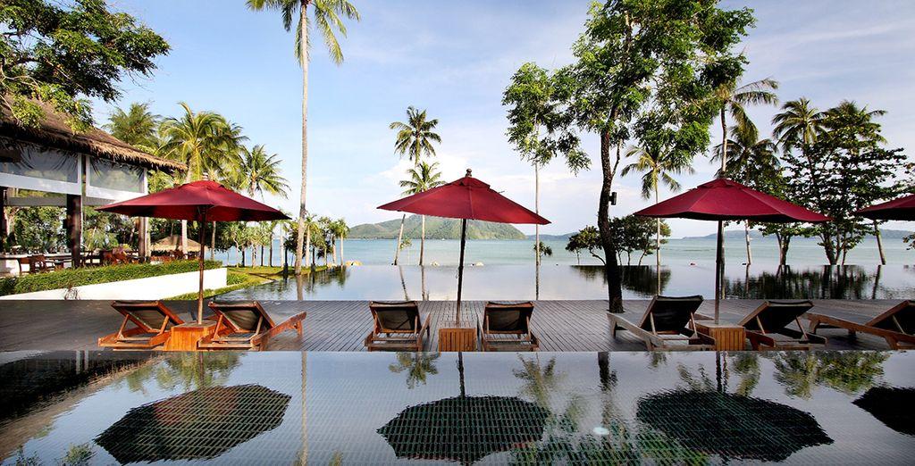 La segunda parte del viaje tendrá lugar en The Vijitt Resort Phuket 5*
