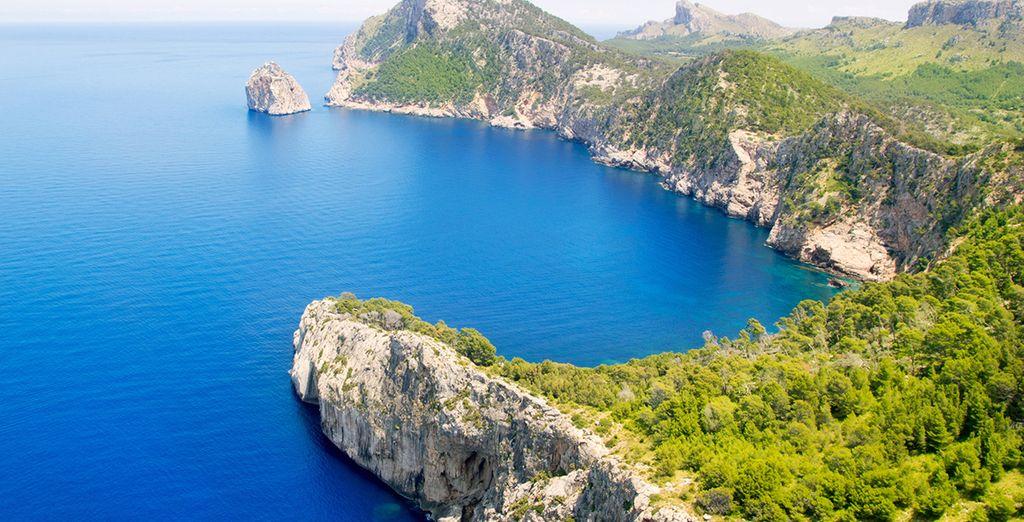 Mallorca es la isla más grande del archipiélago balear