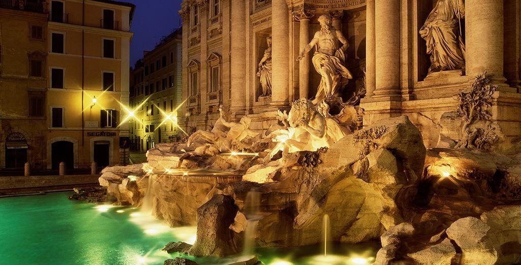 Déjate enamorar por la belleza de la Fontana di Trevi