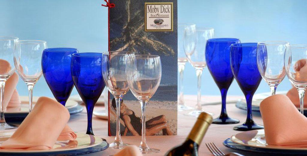 Una amplia selección de exquisita cocina mediterránea
