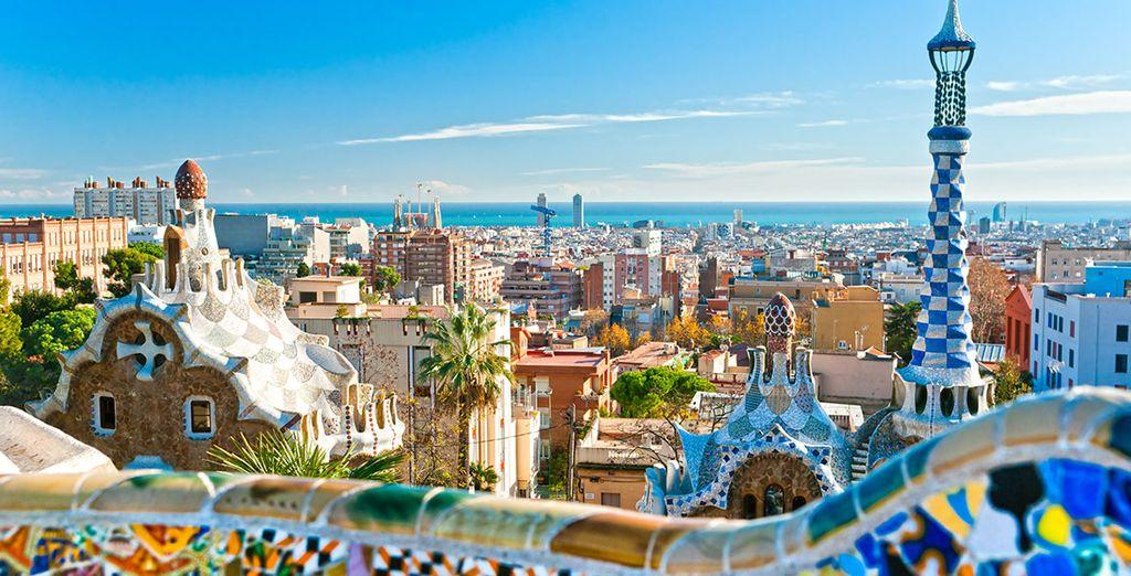 Escápate al color de Barcelona