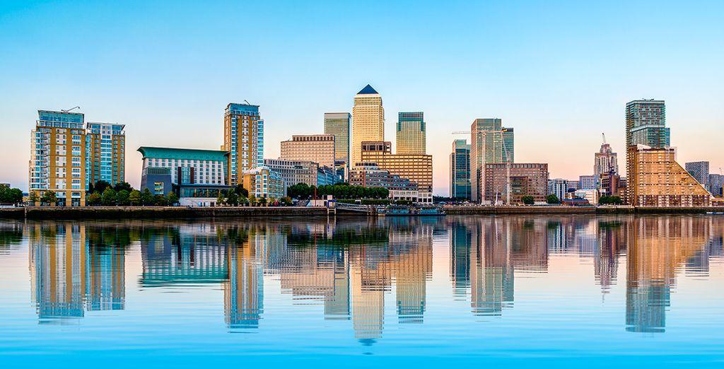 Thames Clipper y Jubilee line ofrecen conexiones rápidas con el extremo oeste de Londres