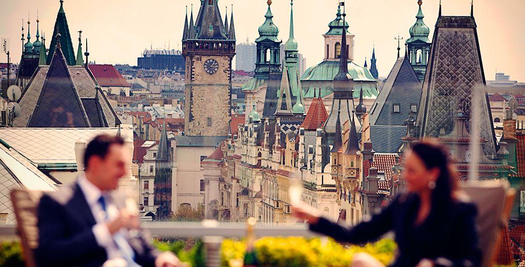 Hotel de Lujo en el casco antiguo de Praga