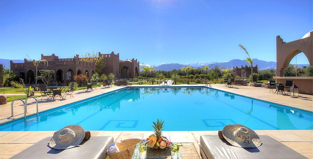 Viva el auténtico lujo marroquí en La Kasbah Igoudar Suites & Spa