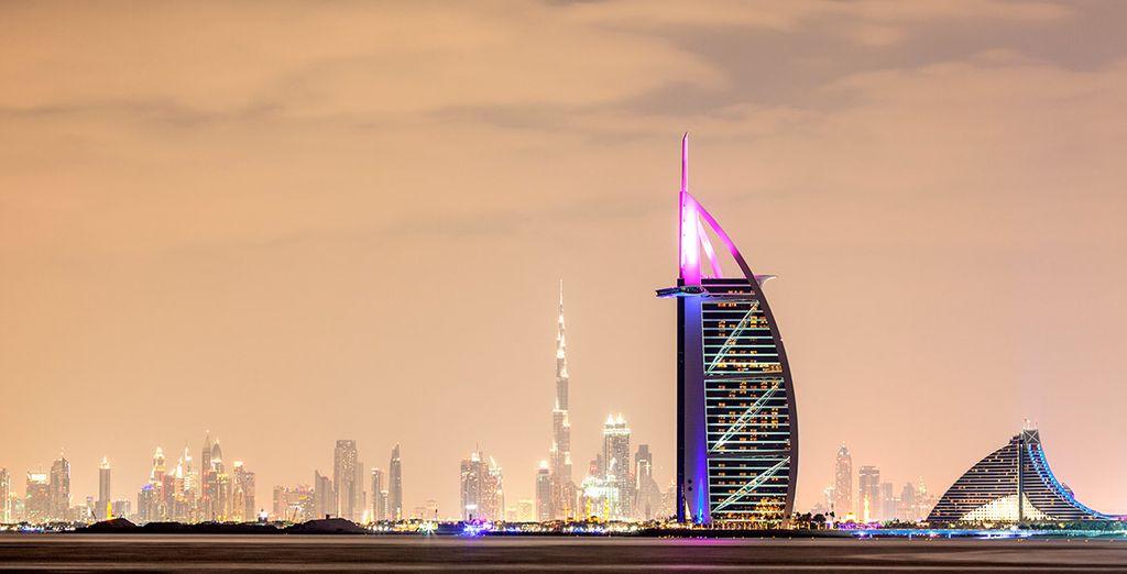 Burj Al Arab, uno de los emblemas de la ciudad emiratí