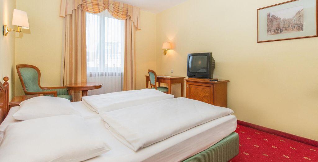 Tu habitación en Hotel Prinz Eugen 4*, Viena