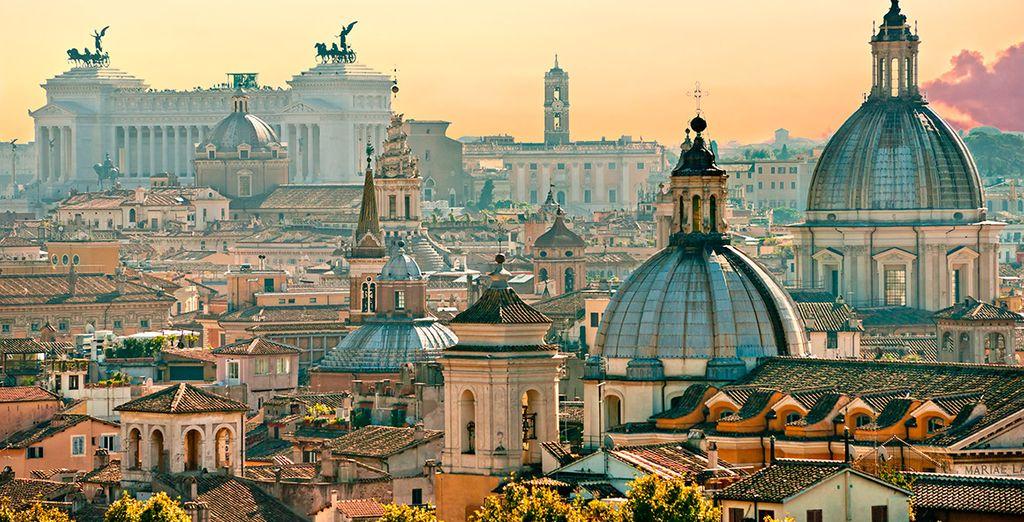 Disfruta Roma a cada paso