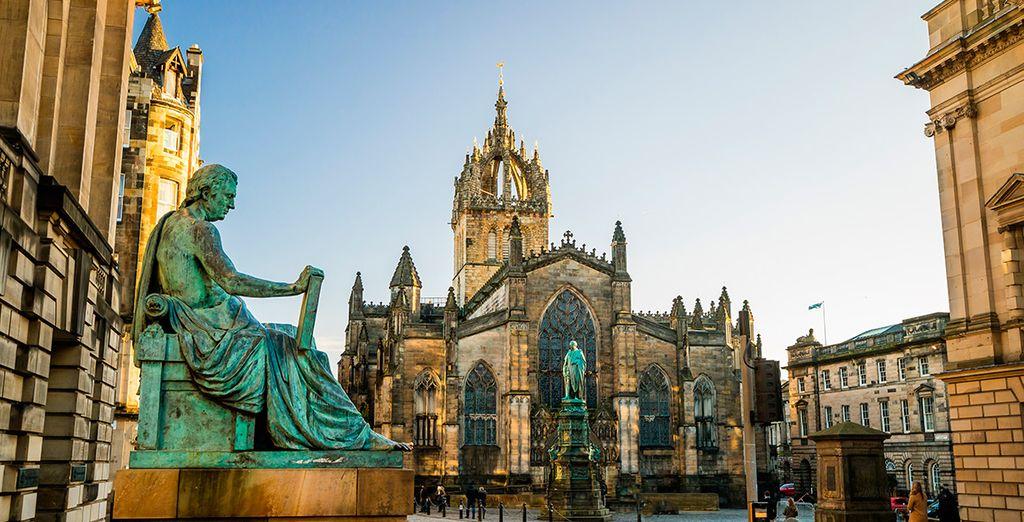 La Milla Real, en el corazón de la capital escocesa