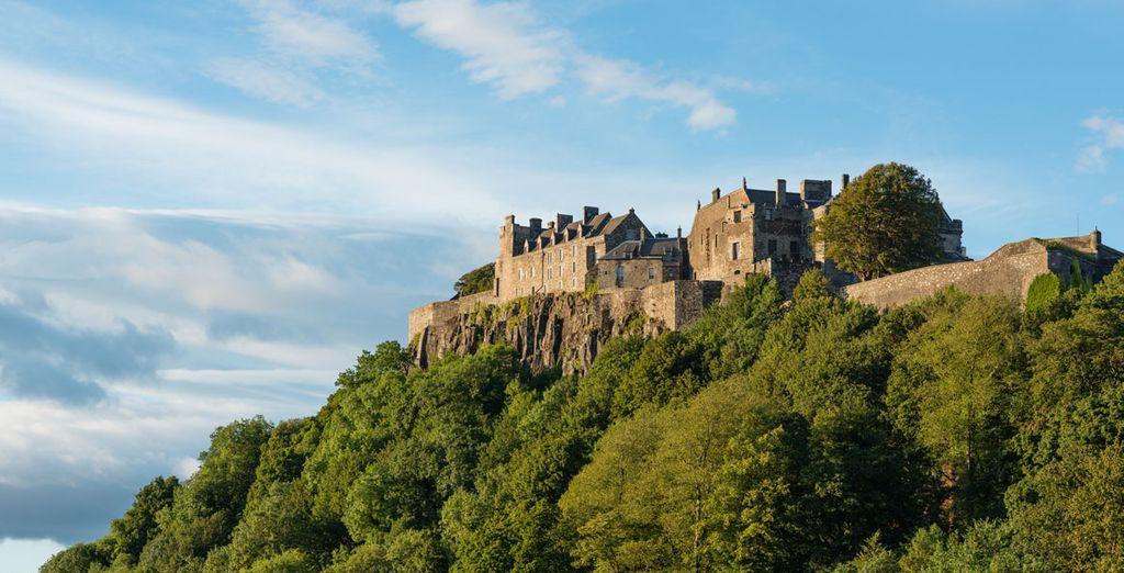 El castillo de Stirling, uno de los más importantes del país