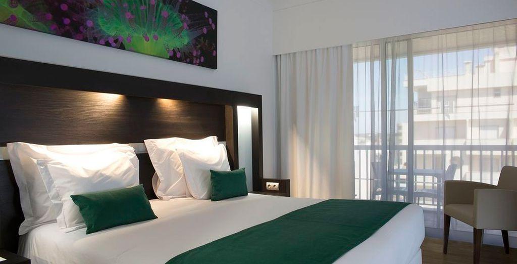 Descansa en tu habitación Superior con vista lateral al mar